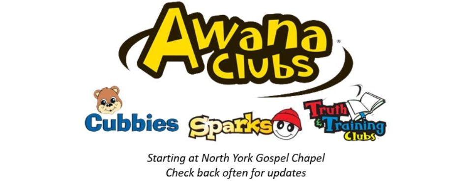 Awana Starting Soon!